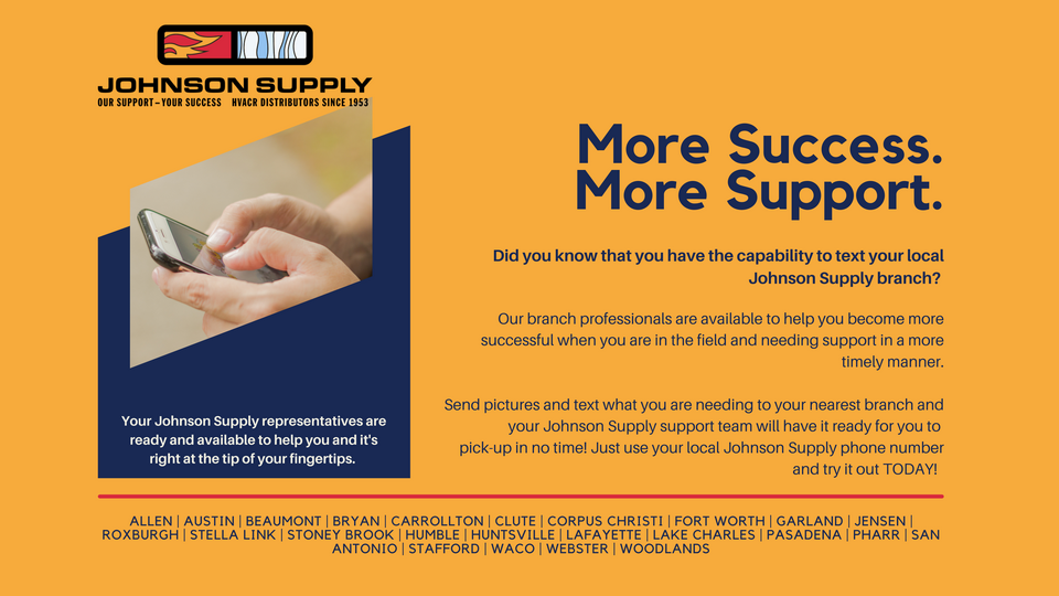 Johnson Supply | Web Store | HVAC Heating Air Conditioning